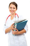 Young woman doctor Royalty Free Stock Images
