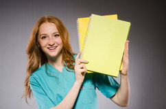 Young woman doctor Royalty Free Stock Photos