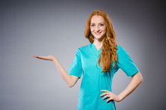 Young woman doctor Royalty Free Stock Photography