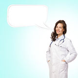 Young woman doctor Stock Image