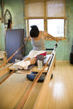 Young woman doing Pilates Stock Photography