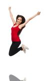 Young woman doing sport exercises Royalty Free Stock Photo