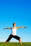 Young Woman Doing Yoga Royalty Free Stock Photo