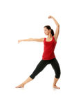 Young woman doing yoga exercise Royalty Free Stock Photo
