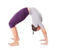 Young woman doing yoga exercise Stock Photography