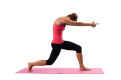 Young woman doing yoga Royalty Free Stock Images