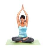 Young woman doing yoga. Stock Image