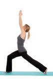 Young woman doing Yoga pose Stock Image