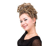 Young woman with dreadlocks Royalty Free Stock Photo