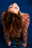 Young woman with dreadlocks Stock Images