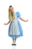 Young Woman Dressed in Costume Royalty Free Stock Photography