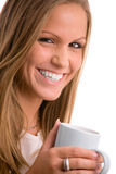 Young woman drinking coffe Royalty Free Stock Photo