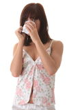 Young woman drinking her morning coffee Stock Photography