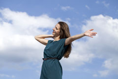 Young woman enjoying life Royalty Free Stock Images