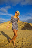 Young woman enjoying summer Royalty Free Stock Image