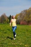 Young woman enjoys sunshine Royalty Free Stock Image