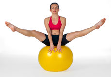 Young woman exercise Royalty Free Stock Photography