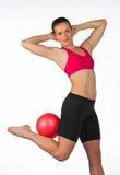 Young woman exercise Stock Photos