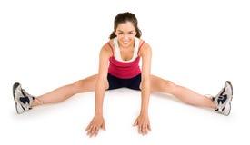 Young Woman Exercising Stock Photos