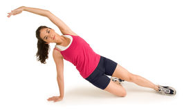 Young Woman Exercising Royalty Free Stock Image