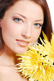 Young woman face Royalty Free Stock Image