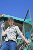 Young Woman Farmer Royalty Free Stock Image