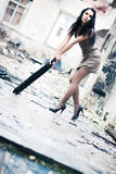 Young woman fashion Royalty Free Stock Photo