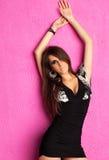 Young woman fashion stock photo