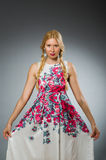 Young woman in fashion Royalty Free Stock Photo