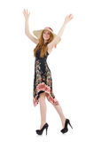 Young woman in fashion Royalty Free Stock Photography