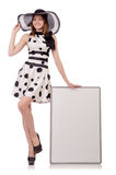 Young woman in fashion Stock Photo