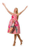 Young woman in fashion Royalty Free Stock Photos