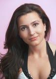 Young woman fashion headshot Stock Image