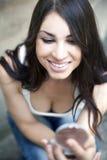 Young woman, fashion, make-up. Young woman, fashion, beauty, make-up Stock Photos