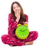 Young woman feeling sleepy Royalty Free Stock Photo