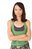 Young woman of fitness Stock Photography