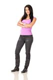 Young woman - fullbody Stock Images