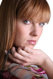 Young woman with ginger hair Stock Photos