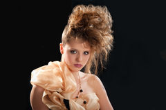 Young woman glamor portrait Royalty Free Stock Photo