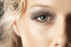 Young Woman With Glamorous Make-Up Stock Image