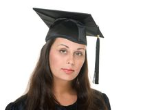 Young Woman Graduate 4 stock photo