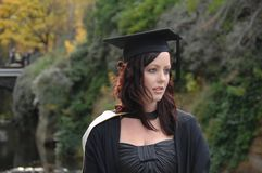 Young Woman Graduate stock images