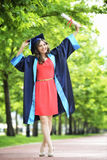 Young woman graduate Stock Photos