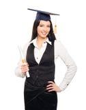 A young woman after graduation Stock Photos