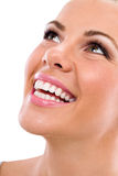 Young woman with great healthy teeth Royalty Free Stock Photos