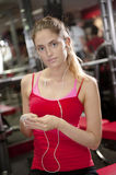 Young woman at gym Stock Photos