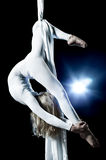 Young woman gymnast Royalty Free Stock Photography