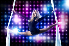 Young woman gymnast Stock Photos