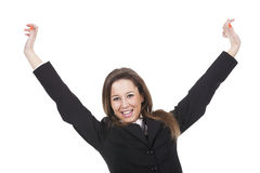 Young woman happy stock photos