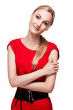 Young woman with happy face Royalty Free Stock Photo
